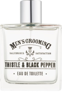 Scottish Fine Soaps Men's Grooming Thistle & Black Pepper eau de toilette pour homme 100 ml