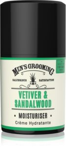 Scottish Fine Soaps Men's Grooming Vetiver & Sandalwood hidratáló arckrém uraknak