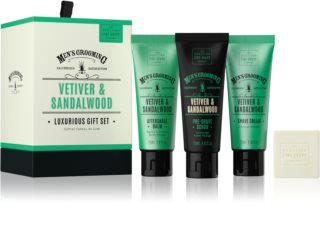 Scottish Fine Soaps Men's Grooming Vetiver & Sandalwood kozmetika szett V. uraknak