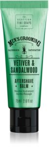Scottish Fine Soaps Men's Grooming Vetiver & Sandalwood balsam po goleniu