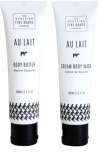 Scottish Fine Soaps Au Lait Cosmetic Set III.