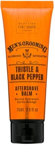 Scottish Fine Soaps Men's Grooming Thistle & Black Pepper Aftershave Balsem