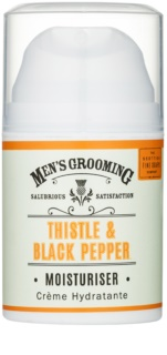 Scottish Fine Soaps Men's Grooming Thistle & Black Pepper gel hidratante para rostro