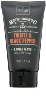 Scottish Fine Soaps Men´s Grooming Thistle & Black Pepper Żel do mycia twarzy