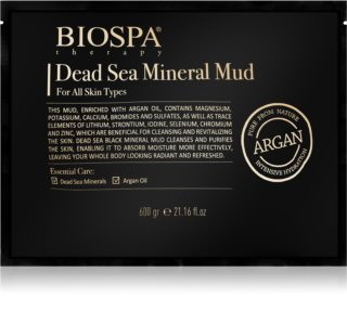 Sea of Spa Bio Spa argila com minerais do Mar Morto e óleo de argão