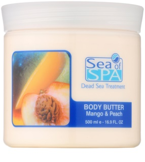 Sea of Spa Dead Sea Treatment Bodybutter mit Mango und Pfirsich