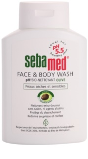 Sebamed Wash Gentle Cleansing Lotion for Face and Body With Olive Oil