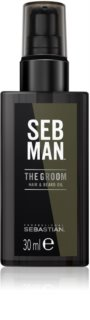 Sebastian Professional SEB MAN The Groom huile pour barbe et moustache