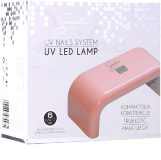 Semilac Paris Lamps&Starters LED лампа за моделиране на маникюр с гел 6 W
