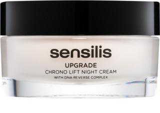 Sensilis Upgrade Chrono Lift нічний крем-ліфтінг для корекції контурів обличчя