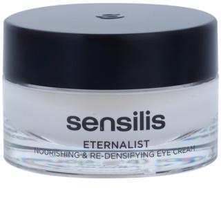 Sensilis Eternalist crema nutritiva para recuperar la densidad de la piel del contorno de ojos