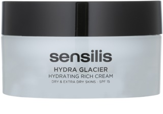 Sensilis Hydra Glacier ενυδατική και θρεπτική κρέμα SPF 15