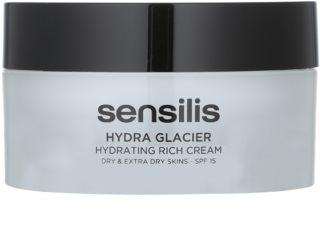 Sensilis Hydra Glacier crema hidratante y nutritiva SPF 15