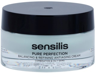Sensilis Pure Perfection Normaliserende Crème voor Vette Huid met Anti-Rimpel Werking