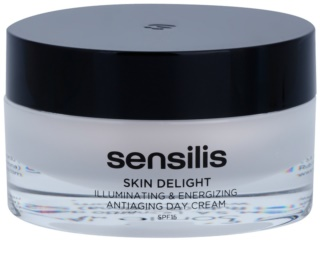 Sensilis Skin Delight Illuminating & Energizing Antiaging Day Cream SPF 15