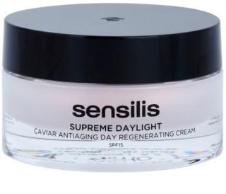 Sensilis Supreme Daylight Regeneratív ránctalanító krém SPF 15