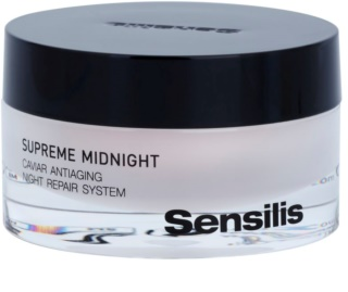 Sensilis Supreme Midnight Caviar Antiaging Night Repair System