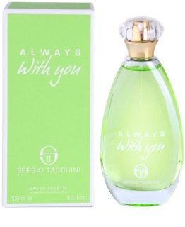 Sergio Tacchini Always With You eau de toilette pour femme 100 ml
