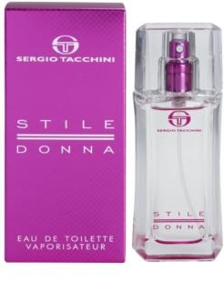 Sergio Tacchini Stile Donna Eau de Toilette voor Vrouwen  30 ml