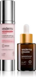 Sesderma Resveraderm & Hidraderm TRX καλλυντικό σετ III. (ενάντια στα σημάδια της γήρανσης)