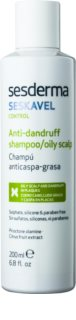 Sesderma Seskavel Control šampon proti lupům pro mastnou pokožku hlavy