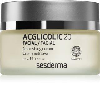 Sesderma Acglicolic 20 Facial поживний омолоджуючий крем для сухої та дуже сухої шкіри