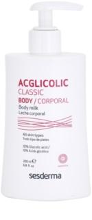 Sesderma Acglicolic Classic Body lait corporel raffermissant effet exfoliant