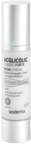 Sesderma Acglicolic Classic Forte Facial creme gel para proteção antirrugas complexa