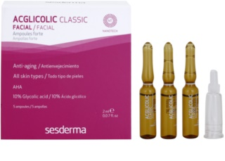 Sesderma Acglicolic Classic Facial sérum soin anti-rides complet