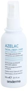 Sesderma Azelac заспокоюючий тонік для догляду за жирною шкірою з акне