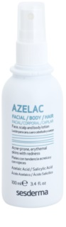 Sesderma Azelac Kalmerende Tonic voor Behandeling van Vette Huid met Acne