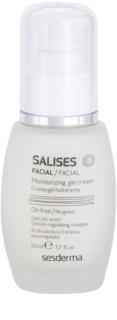 Sesderma Salises crema hidratante con textura de gel para pieles grasas con tendencia acnéica