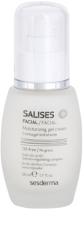 Sesderma Salises Moisturizing Gel Cream For Oily Acne - Prone Skin
