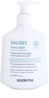 Sesderma Salises антибактеріальний очищуючий гель для обличчя та тіла