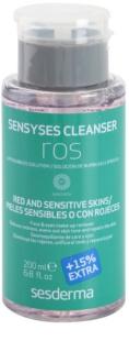 Sesderma Sensyses Cleanser Ros засіб для зняття макіяжу для сухої та пошкодженної шкіри