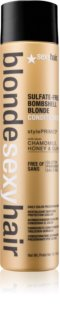 Sexy Hair Blonde Gentle Sulphate-Free Conditioner for Blonde Hair