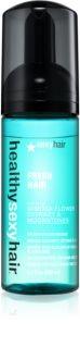 Sexy Hair Healthy espuma styling  para todos os tipos de cabelos