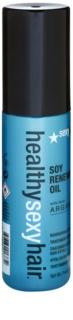 Sexy Hair Healthy óleo nutritivo para cabelo para secagem mais rápida