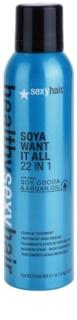 Sexy Hair Healthy незмивний кондиціонер з вмістом сої, какао та арганової олійки