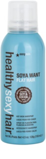 Sexy Hair Healthy Fixation Spray For Heat Hairstyling