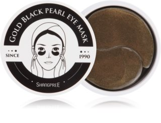 Shangpree Gold Black Pearl masque hydrogel contour des yeux effet anti-rides
