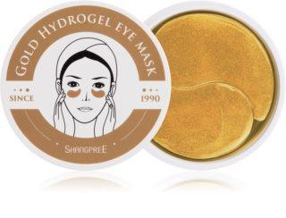 Shangpree Gold Hydrogel máscara hidrogel ao redor dos olhos com efeito regenerador