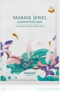 Shangpree Marine Jewel Máscara em folha com efeito iluminador