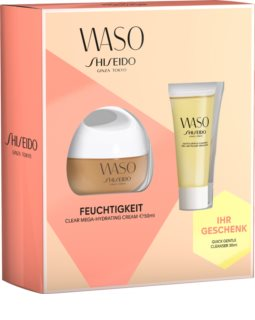 Shiseido Waso Clear Mega Hydrating Cream козметичен пакет  VI.