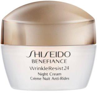 Shiseido Benefiance WrinkleResist24 Night Cream Geschmeidige Anti-Aging Nachtpflege