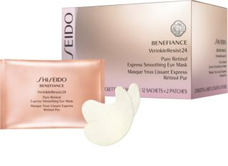 Shiseido Benefiance WrinkleResist24 Pure Retinol  Express Smoothing Eye Mask маска за очи  с ретинол