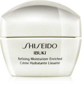 Shiseido Ibuki crema calmanta si hidratanta pentru netezirea pielii si inchiderea porilor