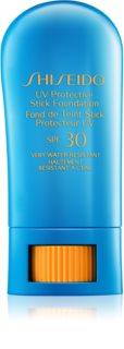 Shiseido Sun Foundation Waterproof Protective Foundation Stick SPF30