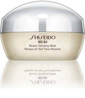 Shiseido Ibuki Beauty Sleeping Mask mascarilla de noche para embellecer la piel