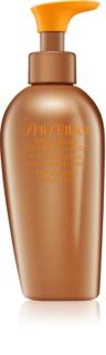 Shiseido Sun Self-Tanning gel auto-bronzant corps et visage